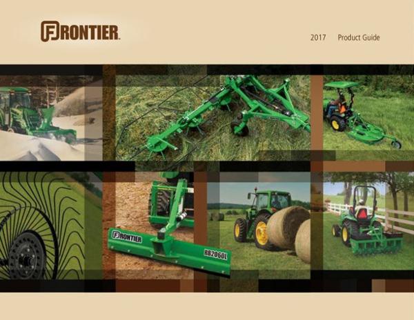 Utility Tractor Attachments » John Deere dealer in Waupun ...  Frontier Guide