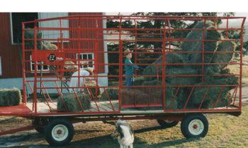 EZ Trail Bale Wagons » John Deere dealer in Waupun and